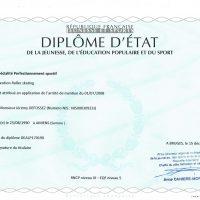 Diplome DEJEPS